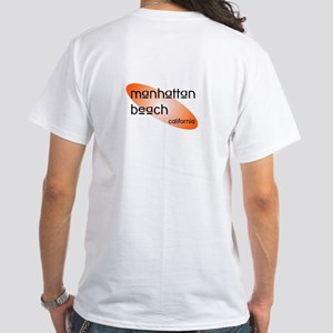 Manhattan Beach, California White T-Shirt