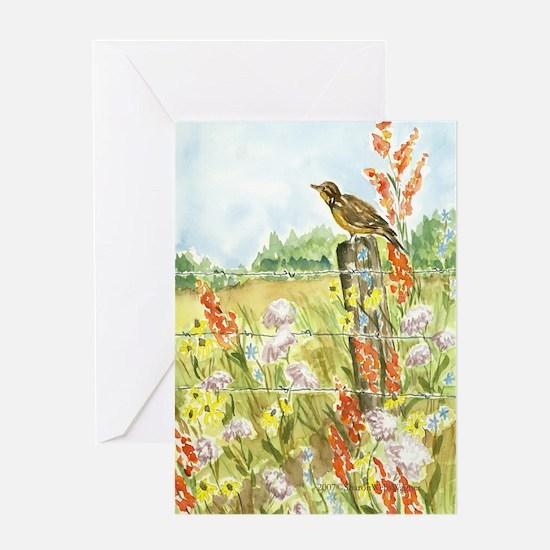 Meadow and Lark Birthday Card