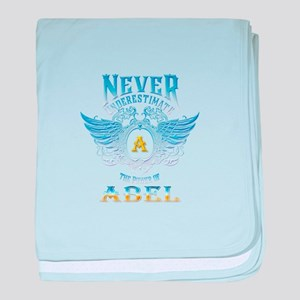 Never underestimate the power of abel baby blanket