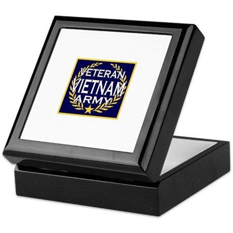 VIETNAM VETERAN Keepsake Box