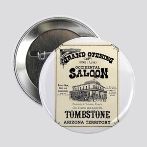 "Occidental Saloon 2.25"" Button (100 pack)"