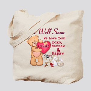 Get Well Soon Personalize Tote Bag