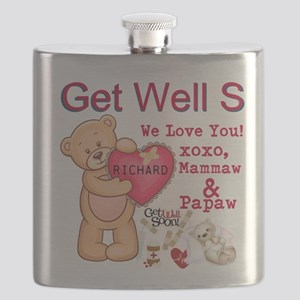 Get Well Soon Personalize Flask