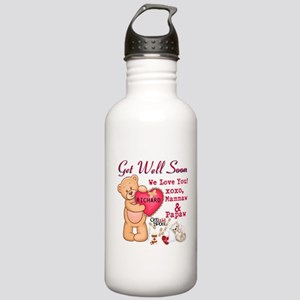 Get Well Soon Personalize Water Bottle