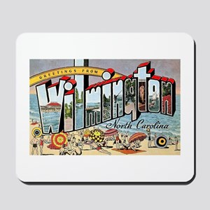 Wilmington North Carolina Greetings Mousepad