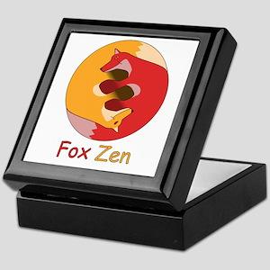 Fox Zen (Yin & Yang) Keepsake Box