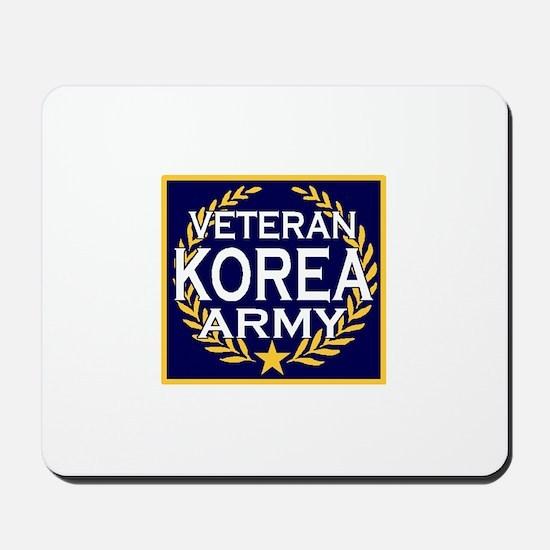 ARMY VETERAN KOREA Mousepad