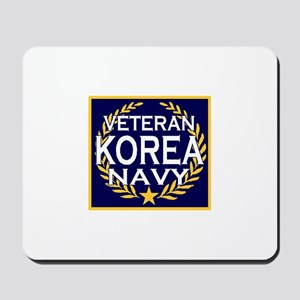 NAVY VETERAN KOREA Mousepad