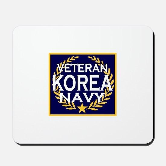 NAVY VETERAN KOREA Mousepad
