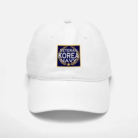 NAVY VETERAN KOREA Baseball Baseball Cap