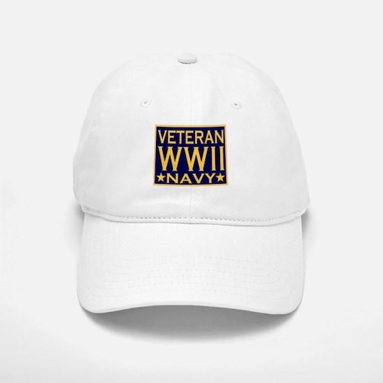 WORLD WAR II VETERAN Baseball Baseball Cap