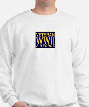 AIRFORCE VETERAN WW II Sweatshirt