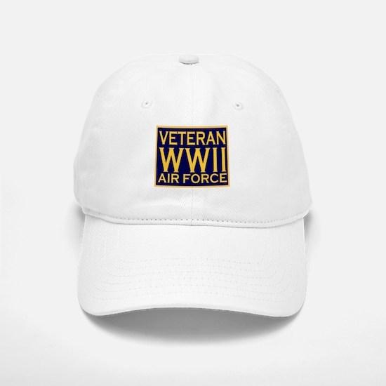 AIRFORCE VETERAN WW II Baseball Baseball Cap