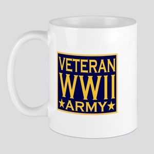 ARMY VETERAN WW II Mug