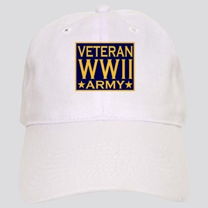 ARMY VETERAN WW II Cap