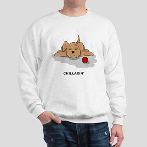 Chillaxin' Dog Sweatshirt