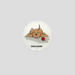 Chillaxin' Dog Mini Button