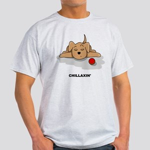 Chillaxin' Dog Light T-Shirt