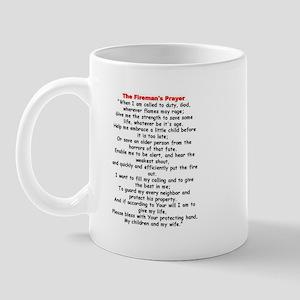 Fireman's Prayer Mug