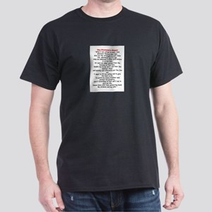 Fireman's Prayer Dark T-Shirt