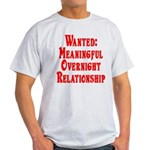 Wanted: Meaningful overnight Light T-Shirt