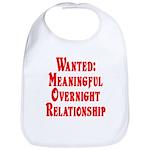 Wanted: Meaningful overnight Bib