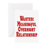 Wanted: Meaningful overnight Greeting Cards (Pk o