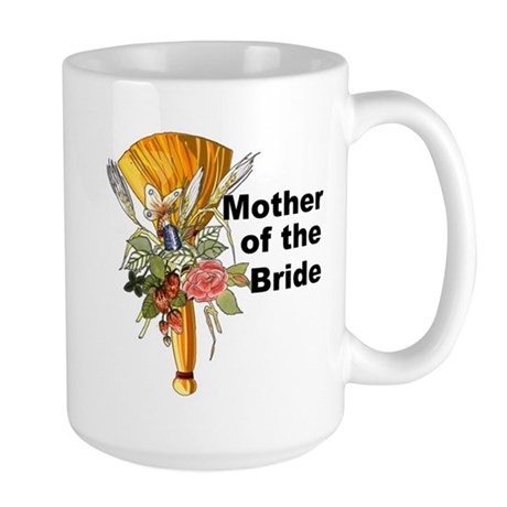 Jumping the Broom Mother of the Bride Large Mug