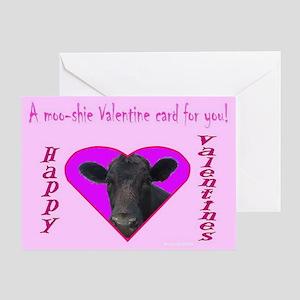 A Moo-shie Valentine Card