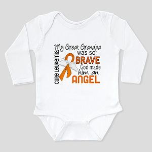 Angel 2 Leukemia Infant Bodysuit Body Suit