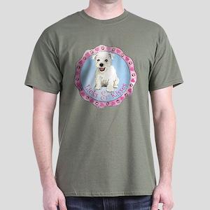 Westie Valentine Dark T-Shirt