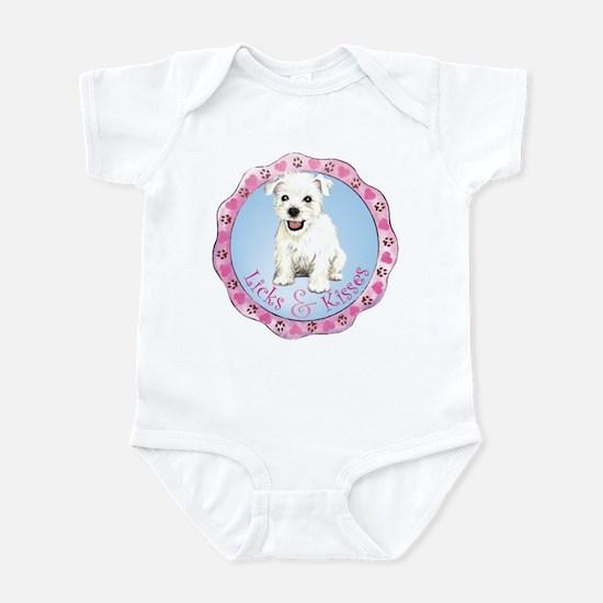 Westie Valentine Infant Bodysuit