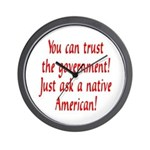 You can trust the government! Wall Clock