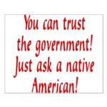 You can trust the government! Small Poster