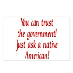 You can trust the government! Postcards (Package o
