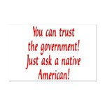 You can trust the government! Mini Poster Print