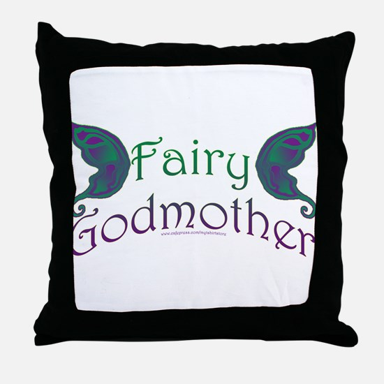 Fairy Godmother Throw Pillow