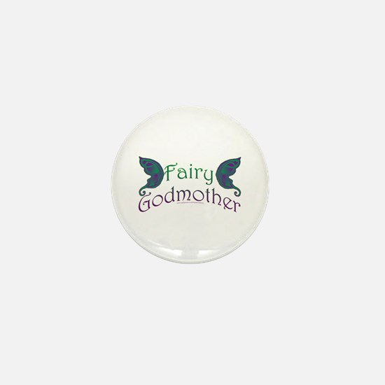 Fairy Godmother Mini Button