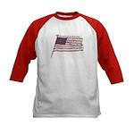 Proud to be an American... Kids Baseball Jersey