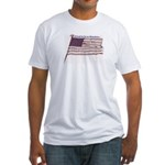 Proud to be an American... Fitted T-Shirt