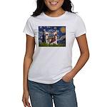 Starry Night / 2Chinese Crest Women's T-Shirt