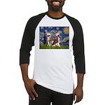 Starry Night / 2Chinese Crest Baseball Jersey