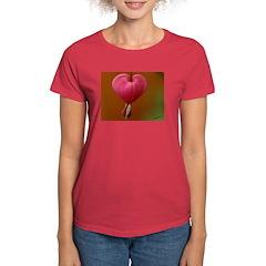 Bleeding Heart Women's Dark T-Shirt