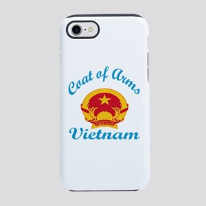 Cat Of Arms Vietnam Country iPhone 8/7 Tough Case