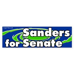 Sanders for Senate Bumper Bumper Sticker
