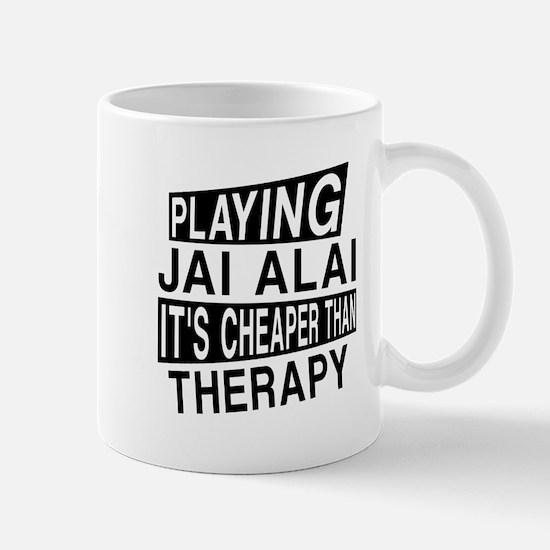 Awesome Jai Alai Player Designs Mug