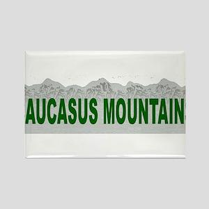 Caucasus Mountains Rectangle Magnet