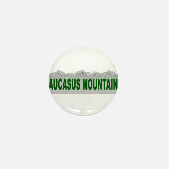 Caucasus Mountains Mini Button