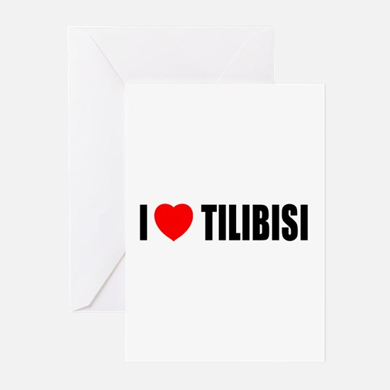 I Love Tilibisi Greeting Cards (Pk of 10)