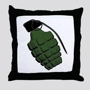 Pineapple Grenade Throw Pillow